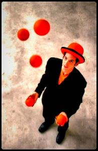 Inside Out Retreat Spain - Juggling Balls