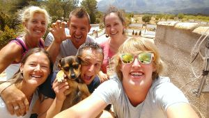 The Gang at Inside Out Retreat Spain
